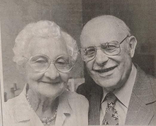Mrs Jessie Ennis and Mr Bill Ennis
