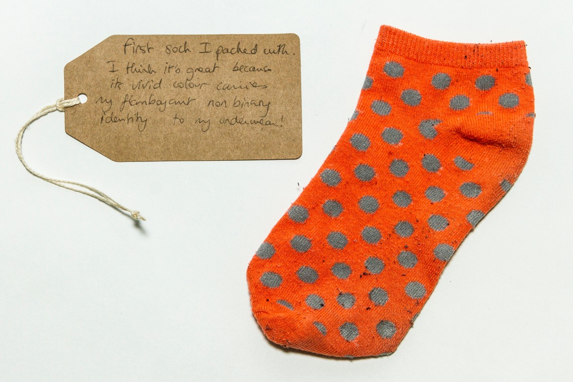 Non-binary packing sock by Katy Davies, (c) Fashion Space Gallery.jpg