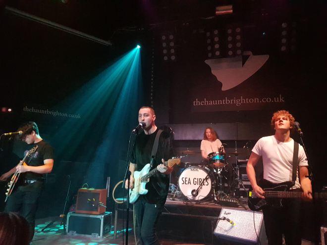 Brighton Sea Girls - The Haunt - Review 1 Sea Gulls Perform.jpg