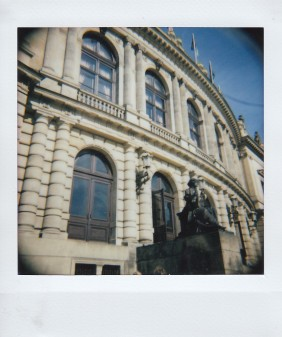 Polaroid - Prague, March 2019 - 3 - Architecture