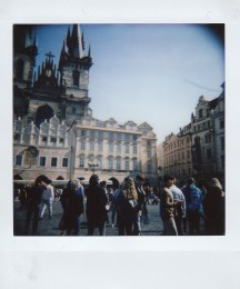 Polaroid - Prague, March 2019 - 5 - Old Town Square, Church