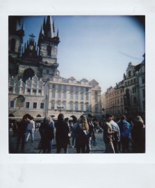 Polaroid - Prague, March 2019 - 5 - Old Town Square, Church