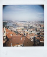 Polaroid - Prague, March 2019 - 6 - View from Prague Castle